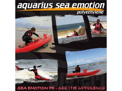 Kajak PE Sea Emotion 505 | Aquarius PE-Version